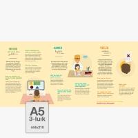 MediaDiamant - 0-5 jaar - Folder A5, 3-luik