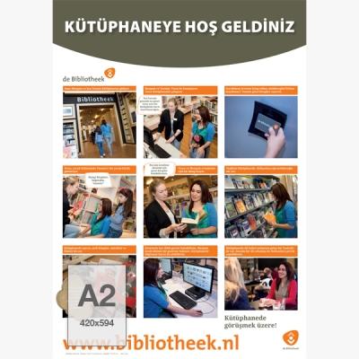 Poster A2 - Fotostrip (Turks)