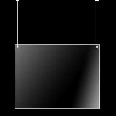 Klik hier voor Veiligheidsscherm hangend