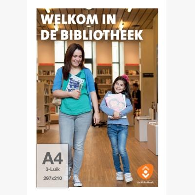 Folder A4, 3-luik - Fotostrip (Nederlands) - 10 ex.