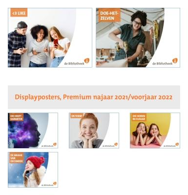 Klik hier voor Displayposters, Premium najaar 2021